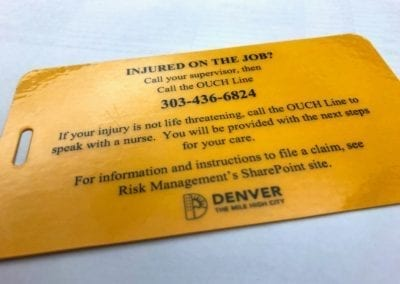 Workers' Compensation Program Follow-up