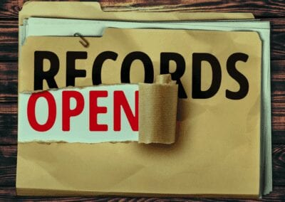 Open Records Request Process